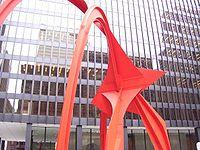 Calder's Flamingo, Federal Plaza, Chicago