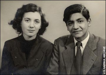 Pat and Vidia Naipaul