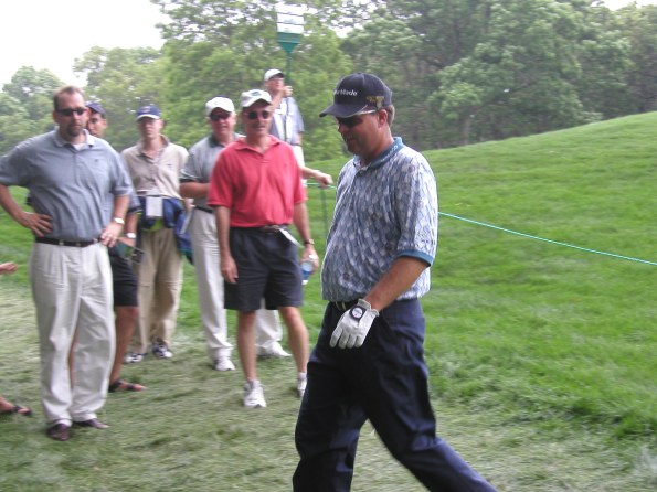 Kenny Perry, 2002 US Open, Bethpage Black