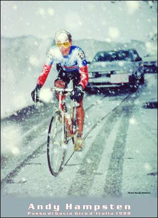 Andy Hampsten, Giro d'Italia, 1988