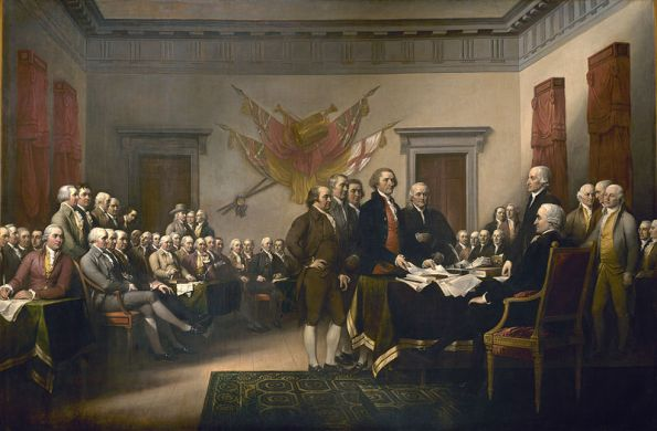 Declaration of Independence, John Trumbull, 1819