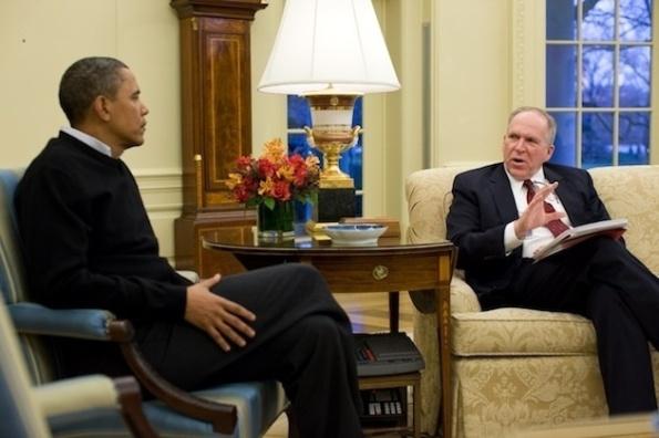President Obama and John Brennan, January 2010