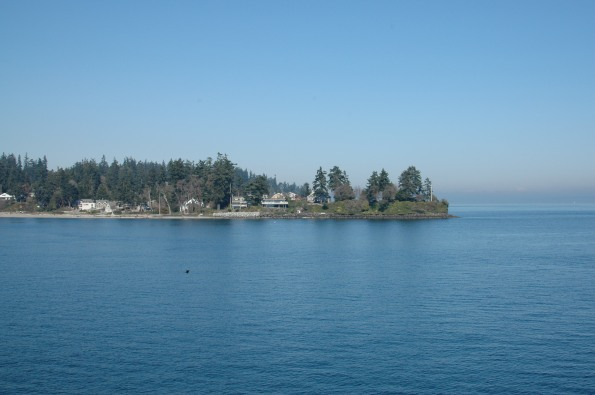 Arriving in Eagle Harbor, Bainbridge Island