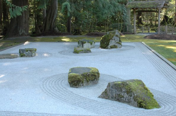 The Stone Garden, within the Japanese Garden