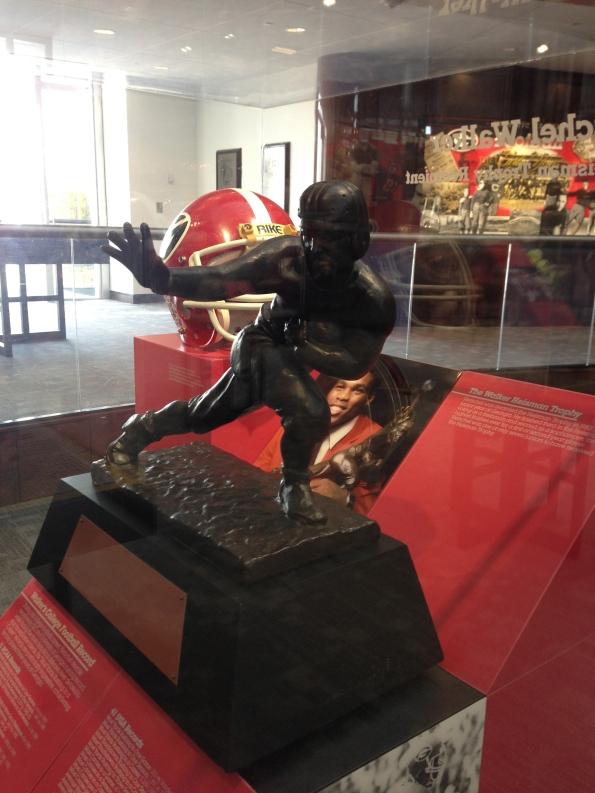 Herschel Walker's 1982 Heisman Trophy