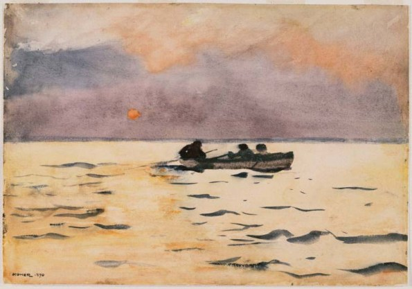 Rowing Home, Winslow Homer, 1890