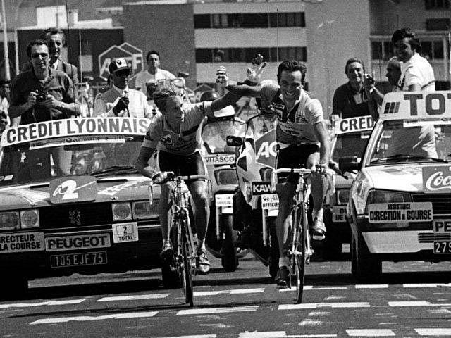 Fotos históricas o chulas de CICLISMO - Página 3 Lemondhinault1986