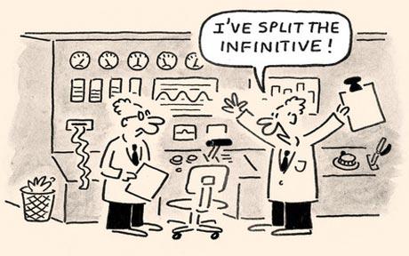 split-infinitive