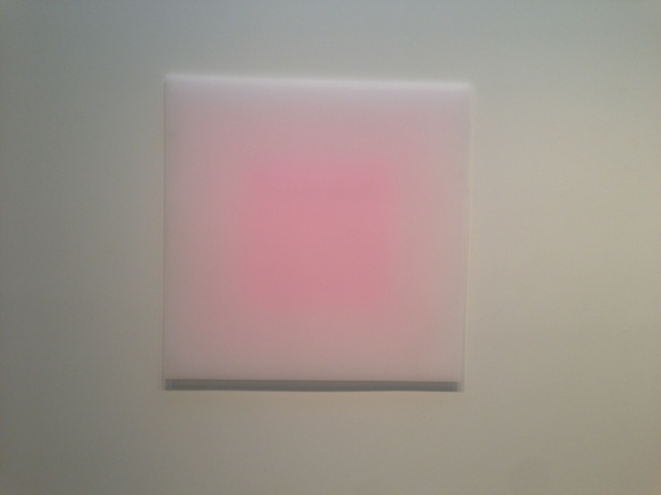 "Peter Alexander, Big Pink Square, 2012, 60"" x 60"""