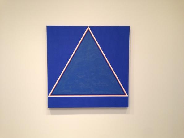 "John McCracken, Untitled, 1964, 60"" x 60"""