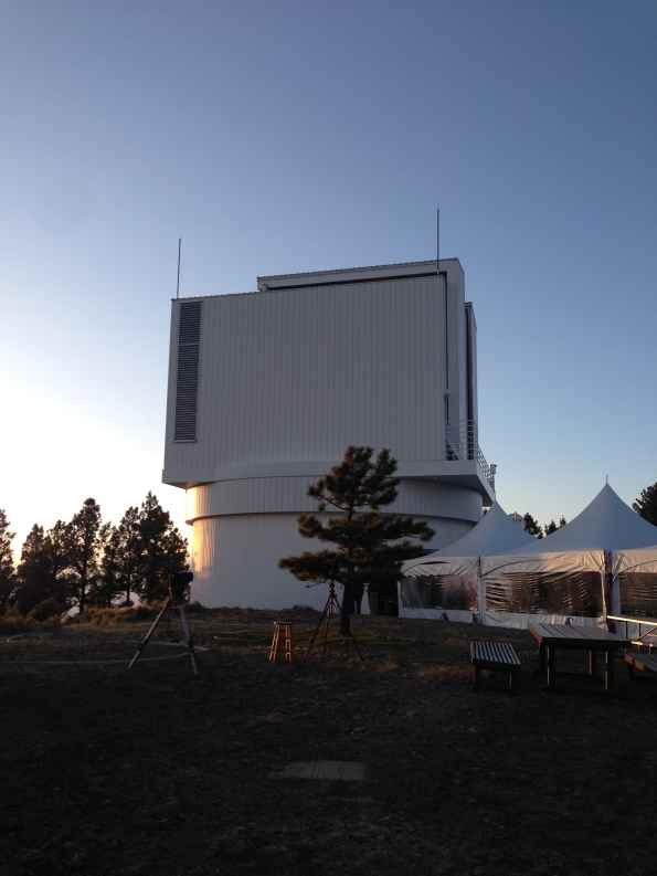 Apache Point Observatory's 3.5-meter telescope